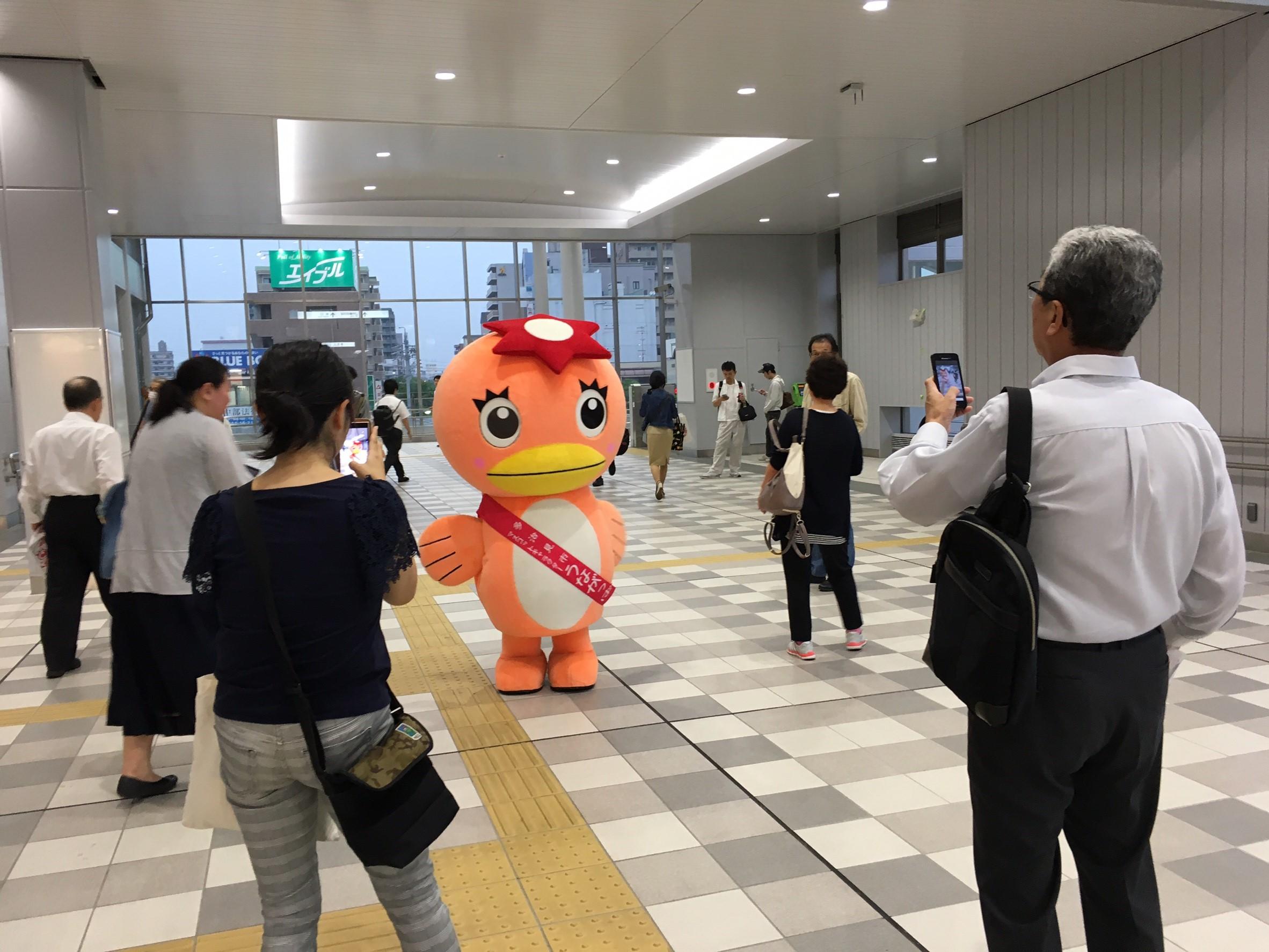 美濃焼祭PR in 春日井駅