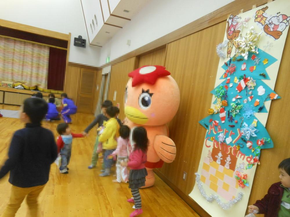 児童館でのクリスマス会